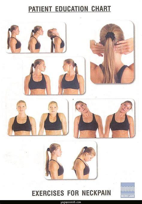 yogaposes8 best poses for sore neck maintenance back shoulders neck sore neck