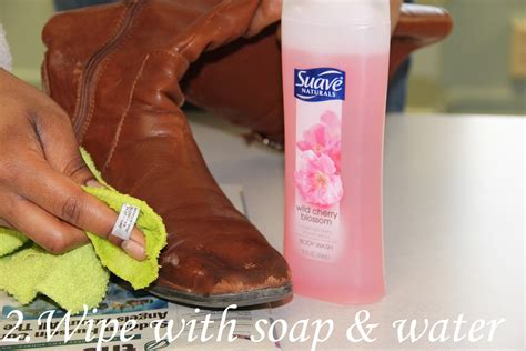 Remove Stains From Leather by How To Remove Salt Stains From Leather Boots A Step By