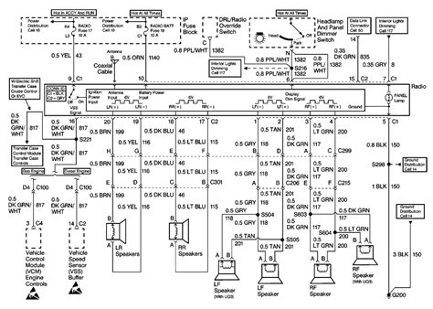 2003 gmc yukon bose radio wiring diagram wiring diagrams