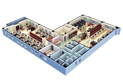 free 3d floor plans 3d floor plan software free with modern office design for