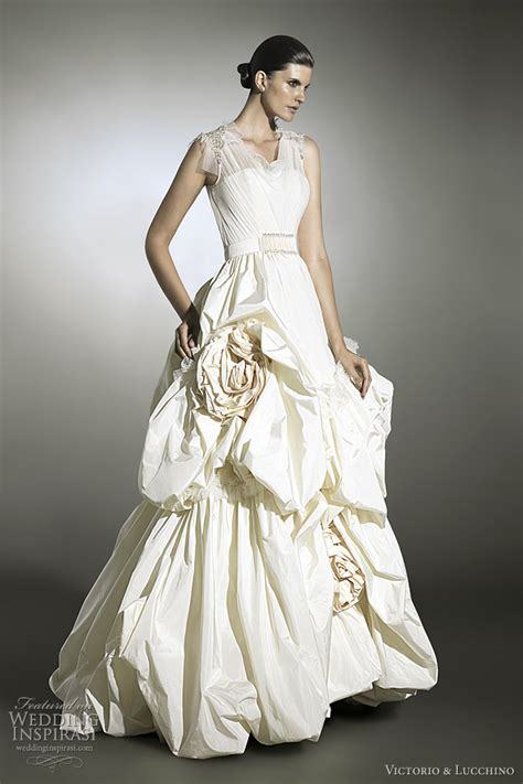 Avant Garde Wedding Dresses: Victorio And Lucchino 2012