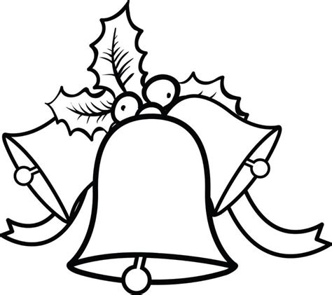 coloring pages of christmas bells free printable christmas bells coloring page for kids 1