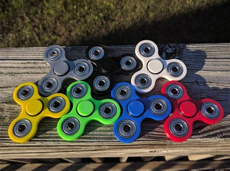 Fidget Spinner Spinner Toys weighted tri spinner top fidget edc complete spinners