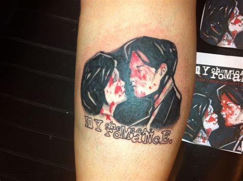 my chemical romance tattoo 115 best my chemical tattoos images on