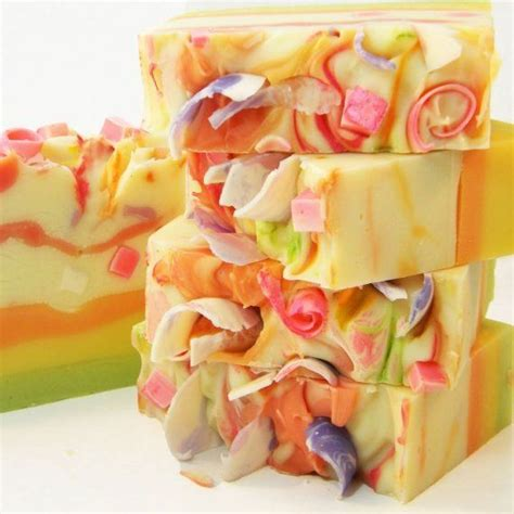 Beautiful Handmade Soaps - tutti fruiti handmade vegan cold process soap by sv soaps