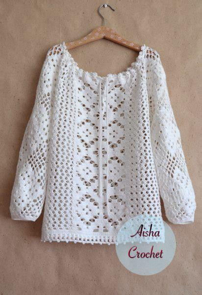 pattern free blouse white lace blouse free crochet patterns