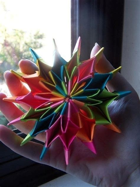 origami firecracker origami fireworks 183 an origami shape 183 origami on cut out