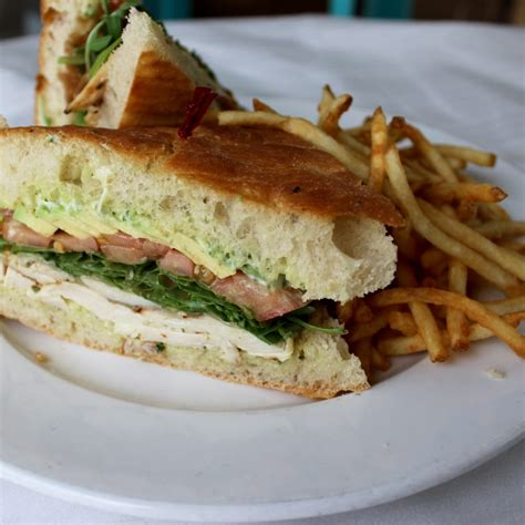 gallery that pizza place the best grilled rosemary chicken sandwich on their lunch