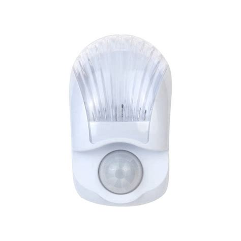 motion activated led night light shop style selections clear white led night light with