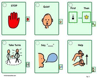 printable cue cards the 25 best visual cue ideas on pinterest visual