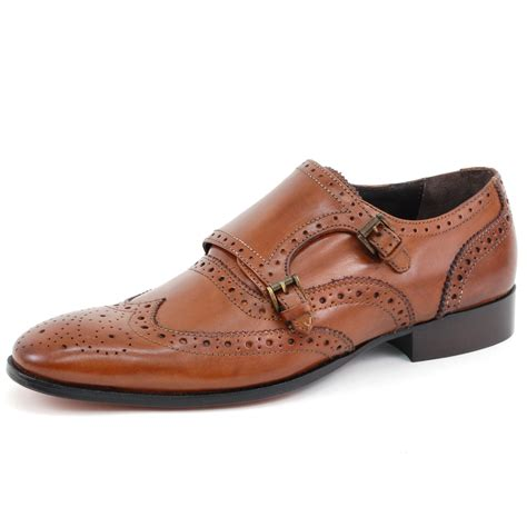 buckle mens shoes mens leather dress shoes buckle monk slip on