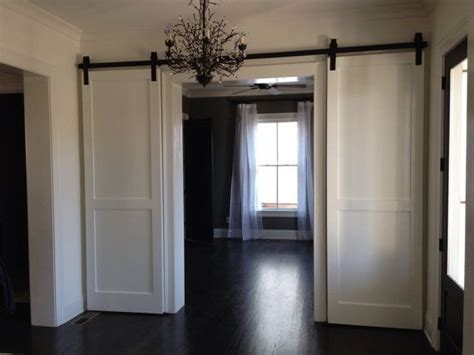 Interior Barn Door Track System by Discover And Save Creative Ideas