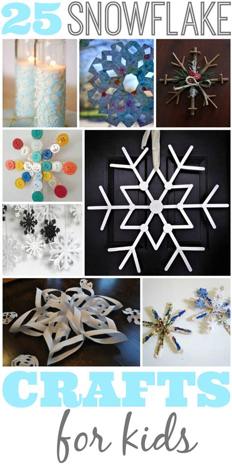snowflakes crafts for best 25 snowflake crafts for