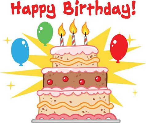 compleanno clipart happy birthday cake clip happybirthdaywishes