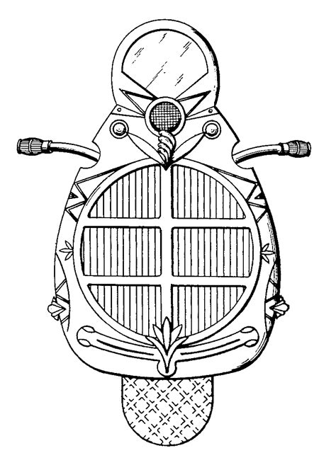 state seal of michigan coloring pages