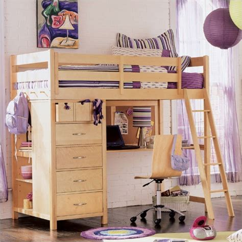 girls loft bed with a desk and vanity loft beds for teens girls bing images cute it has