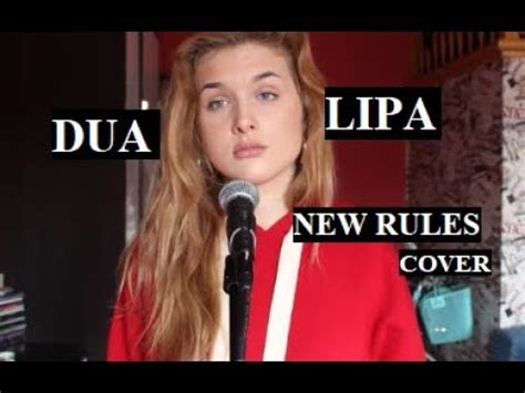 dua lipa youtube covers dua lipa new rules 17 yrs old vocal cover youtube
