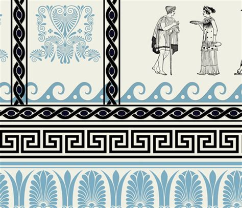 greek motif history of interior design ancient greece