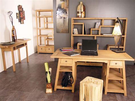 bureau m騁al et bois bureau moderne moka fa 231 on tr 233 teau 2 tiroirs en