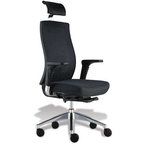Chair Headrest by High Back Headrest Office Chair In Office Chairs