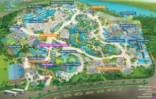 Seaworld Map Orlando by Gallery For Gt Aquatica Map