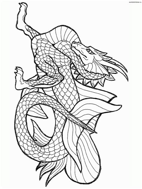 Coloring Pages Of Knights And Dragons