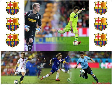 barcelona pemain daftar pemain baru barcelona di musim 2014 2015 ssb