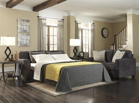 ashley alenya sofa review alenya charcoal queen sofa sleeper 1660139 sleeper