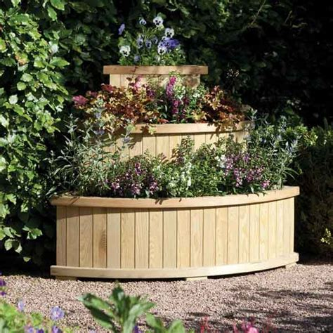 Corner Planters by Great Value Sheds Summerhouses Log Cabins Playhouses
