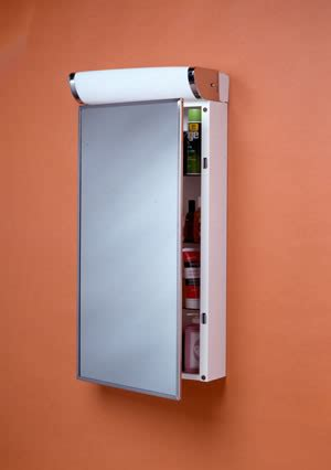 Basco Medicine Cabinets Basco Incorporated Surface Mount W Top Light