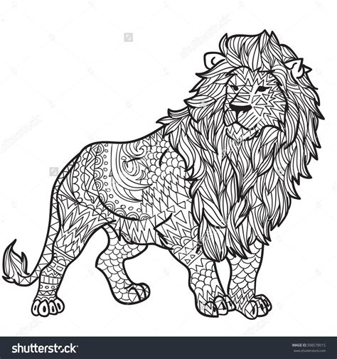 detailed lion coloring pages 98 the guard getcoloringpagescom lion coloring page