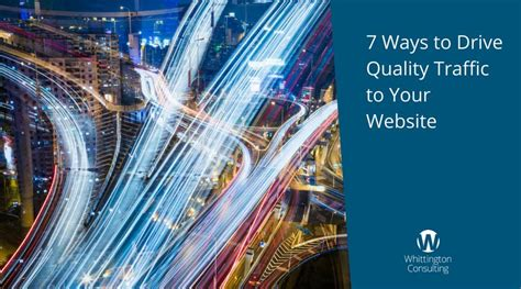 7 Ways To Take Caution When Driving In The by 7 Ways To Drive Quality Traffic To Your Website