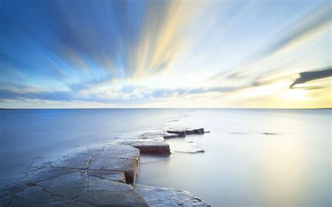 sea sky horizon wallpapers hd wallpapers id
