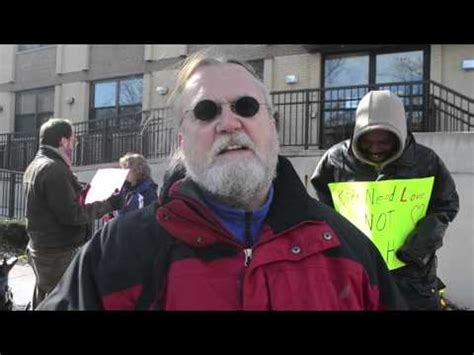 progress illinois activists protest outside alden