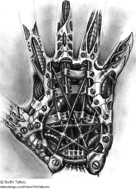 biomechanical tattoo flash books biomechanical tattoo design for hand tattoos book 65