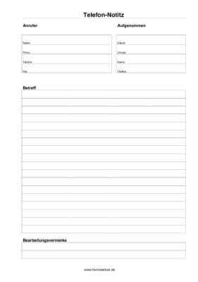 Vorlage Word Telefonnotiz 28 Images telefonnotiz vorlagen und muster zum ausdrucken
