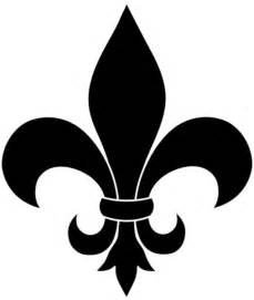 Fleur De Lis Home Decor Wholesale Fleur De Lis Black Silhouette Free Images At Clker Com