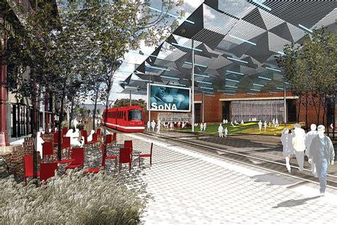 design center rogers ar fayetteville 2030 transit city scenario architect