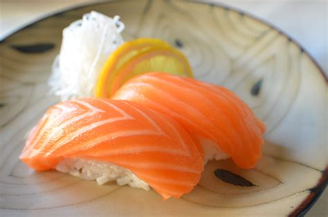 Todays Special Sake Salmon And Rice by Amazing Eye Popping And Delicious Japanese Cuisines You