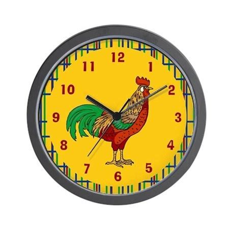 Rooster Wall Clock by scott64