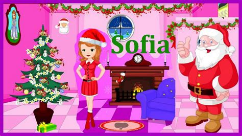 xmas decorating games watch full movies online sofia the first movie games sofia christmas room decor