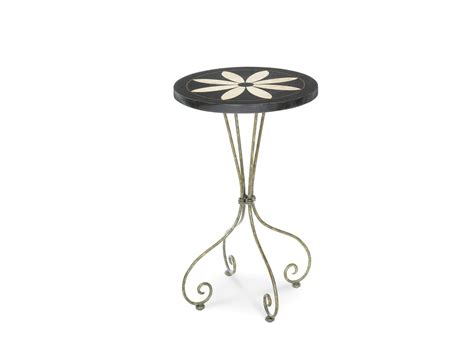 flower accent table michael amini discoveries flower accent table dres 001 by aico