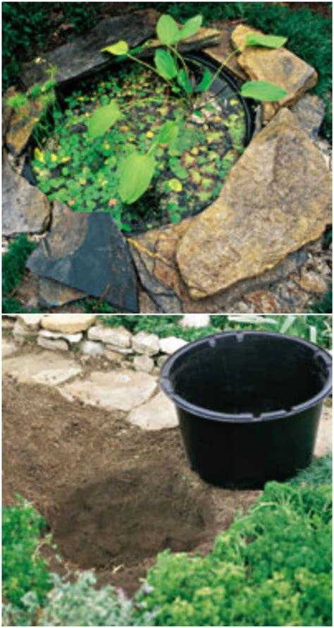 superb House Plant Decoration Ideas #5: 18-bucket-water-gardens-ponds.jpg