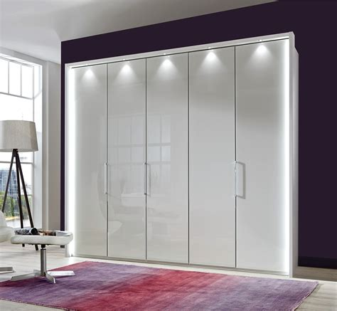 Wardrobe Bi Fold Doors by Stylform Poseidon Glass Bi Fold Hinged Door Wardrobe