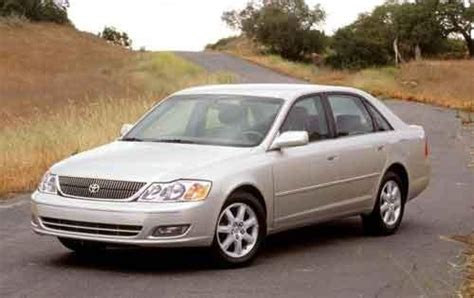 2002 Toyota Avalon Reliability 2002 Toyota Avalon Warning Reviews Top 10 Problems You