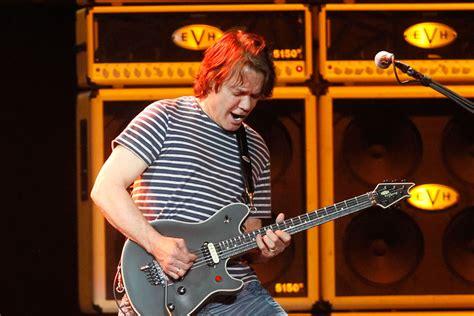 eddie van halen voted greatest guitarist of all time eddie van halen named greatest guitarist of all time by