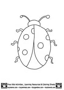 bug template ladybug outline template printables embroidery etc