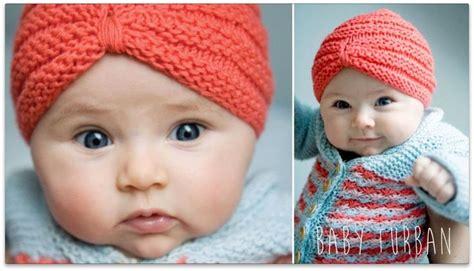 Tutorial Turban Copii | knitting tutorial baby turban crochetat si tricotat