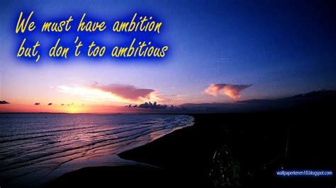 wallpaper motivasi    ambition