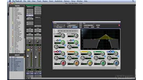 pro tools workflow eq workflow exle 3 the quot telephone quot effect